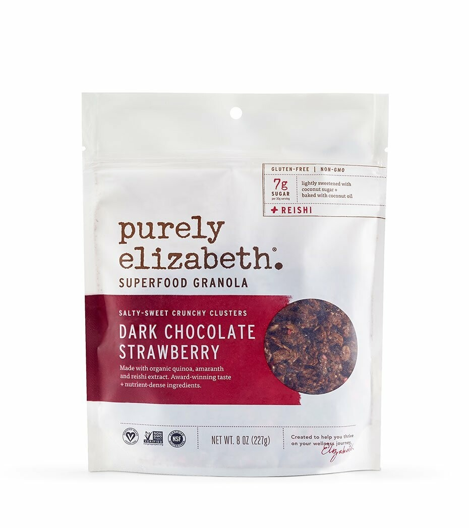 Purely Elizabeth: Super Food Granola Dark Chocolate Strawberry