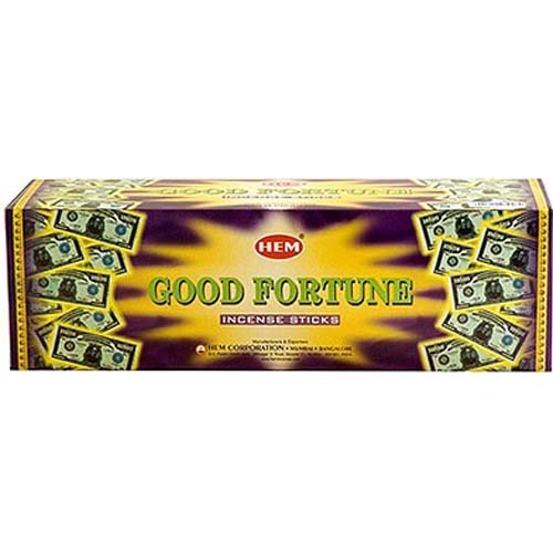 Good Fortune Hem Incense Box (120 Sticks)