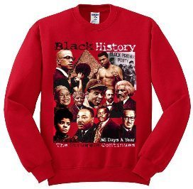 Black History 365 Days a Year Sweater (Red)