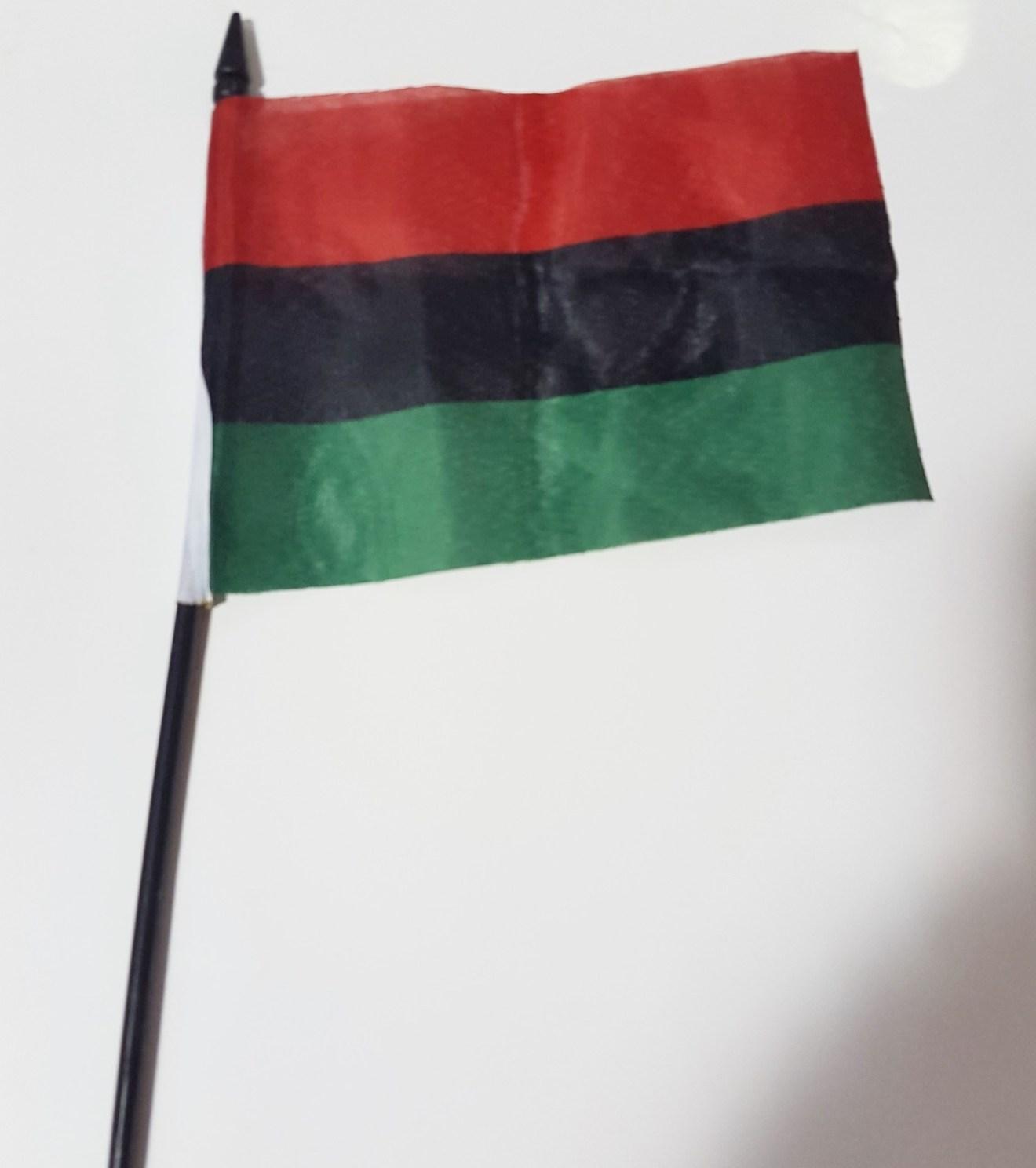 4 x 6 RBG Flag on a Stick