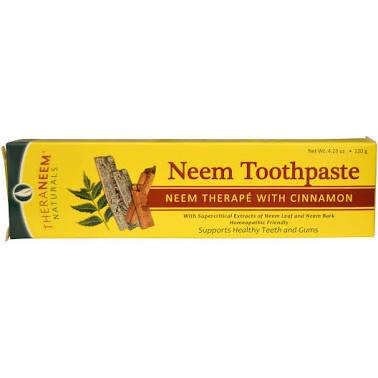TheraNeem Naturals Cinnamon Toothpaste 4.23oz
