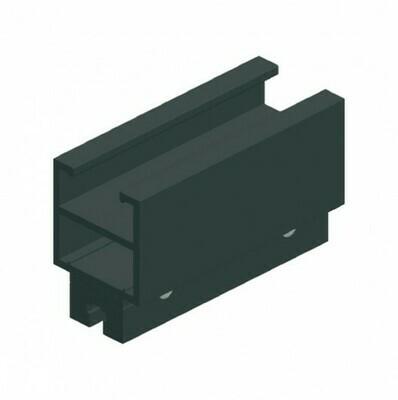 CUE-TRACK 2 Rail droit - profilé simple