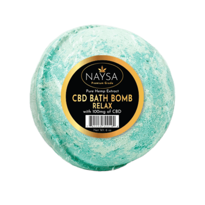 NAYSA CBD 100 mg Relax Bath Bomb