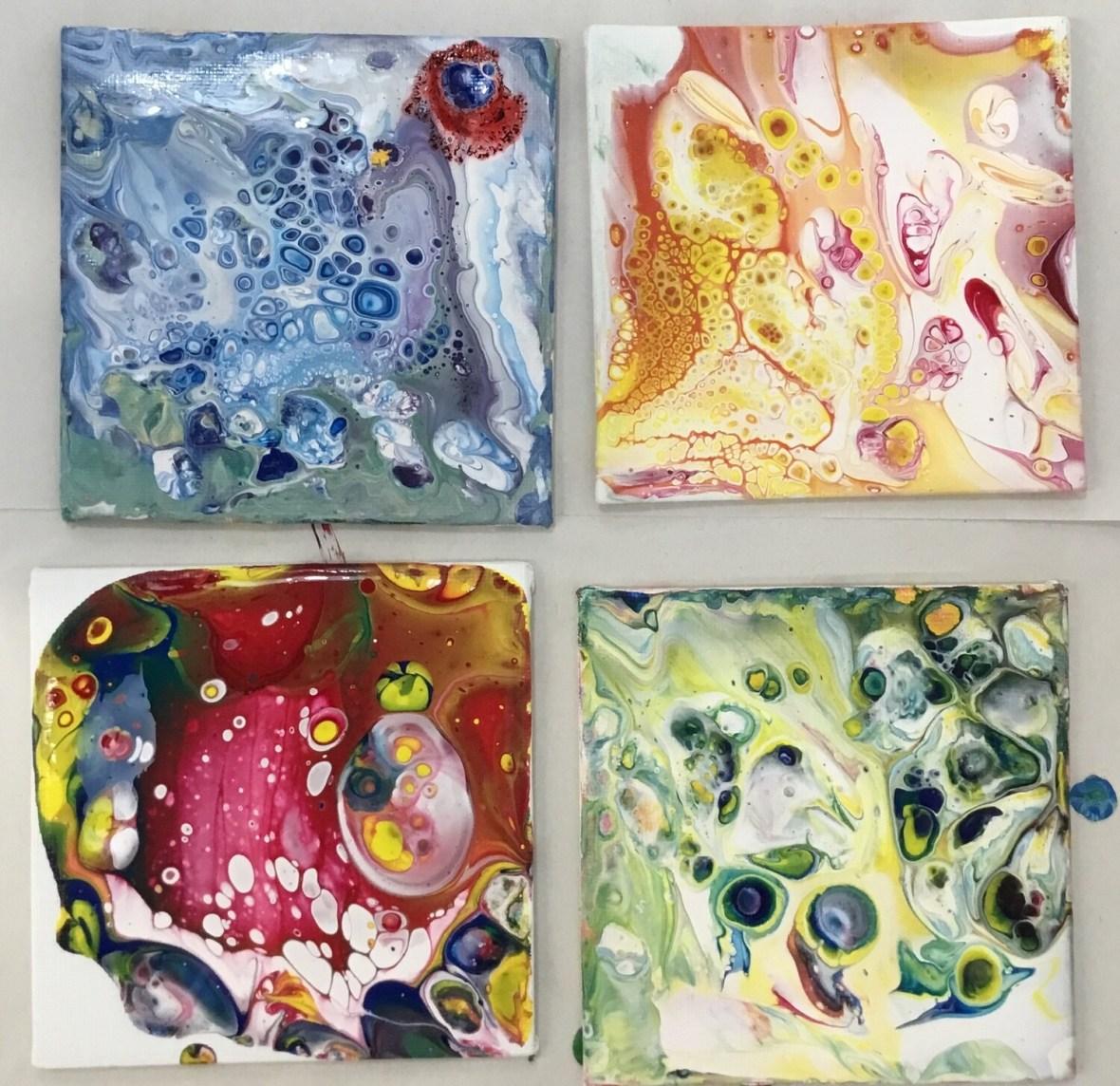 SLA Paint Pour Kits