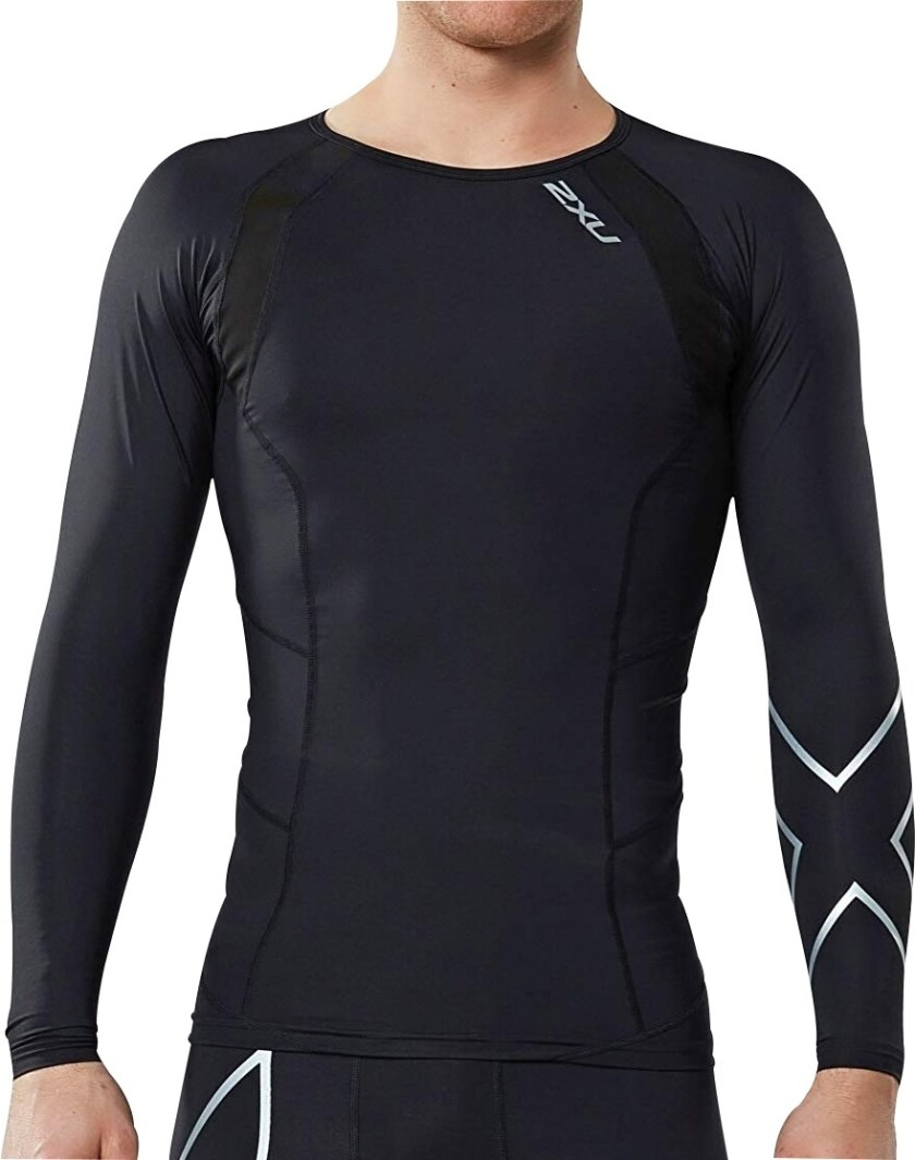 Long Sleeve Compression Aerobic Top