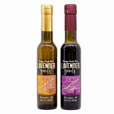 Lavender Balsamic Vinegar and Herbs de Provence Oil
