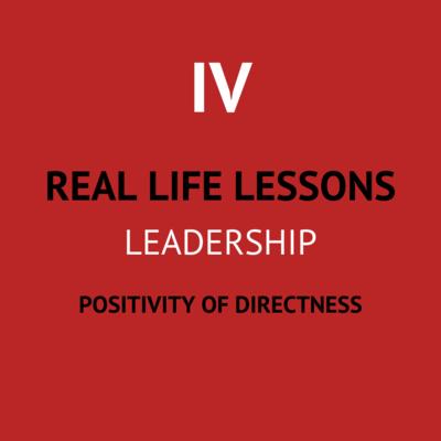IV. Positivity of directness