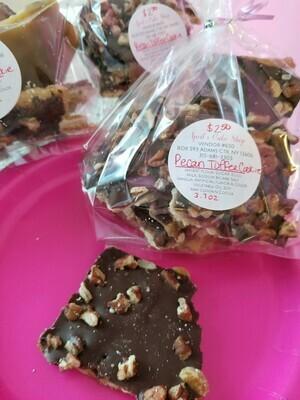 Cookies, Pecan Toffee