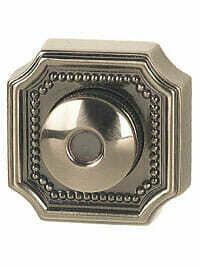 Von Morris Door Hardware Weave Doorbell-SMALL