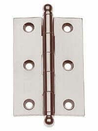 Von Morris Hardware Five Knuckle-Loose Pin Mortise Cabinet Hinge 3