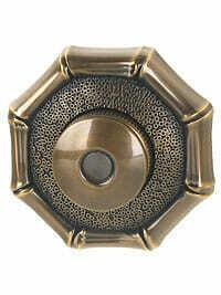 Von Morris Door Hardware Bamboo Doorbell-SMALL