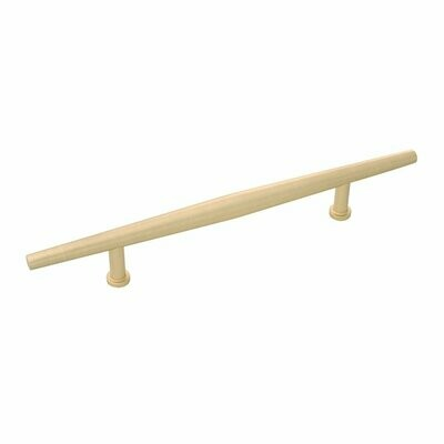 Belwith-Keeler Cabinet Hardware  Wexler Collection Pull 128 Millimeter Center to Center Royal Brass Finish
