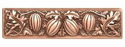 Notting Hill Cabinet Pull Autumn Squash Antique Copper 4-7/8
