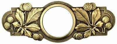 Notting Hill Cabinet Pull Horse Chestnut Antique Brass 5