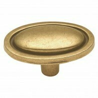 Hickory Cabinet Knobs and Pulls KNOB, 1-1/2