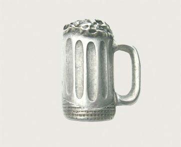 Emenee Decorative Cabinet Hardware Beer Mug Knob 1-7/8