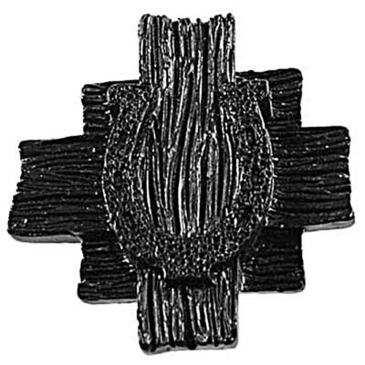 Sierra Lifestyles / Big Sky Cabinet Hardware Horseshoe Knob - Black