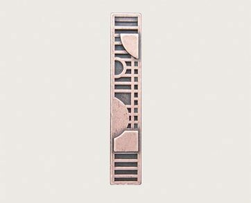 Emenee Decorative Cabinet Hardware Mission Handle Circle w/Squares