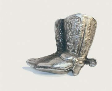 Emenee Decorative Cabinet Hardware Cowboy Boots 1