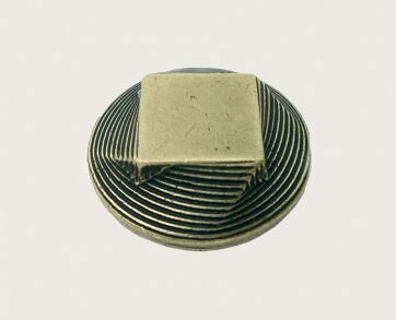 Emenee Decorative Cabinet Hardware Mission Knob Circle to Square 1-3/8