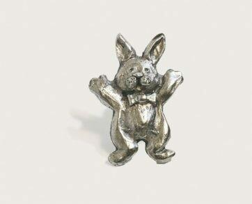 Emenee Decorative Cabinet Hardware Bunny Rabbit 2-1/8