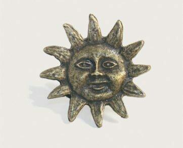 Emenee Decorative Cabinet Hardware Sun 1-7/8