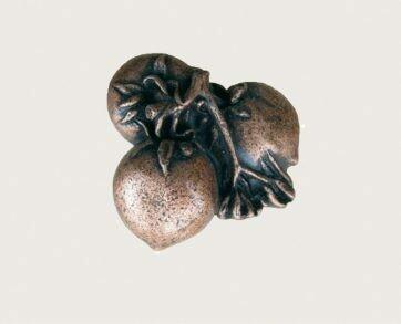 Emenee Decorative Cabinet Hardware Persimmon Knob 1-3/4