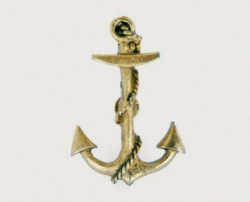 Emenee Decorative Cabinet Hardware Anchor 2-1/2