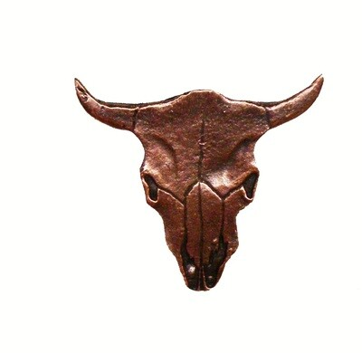 Buck Snort Lodge Decorative Hardware Cabinet Knobs and Pulls Steer Skull