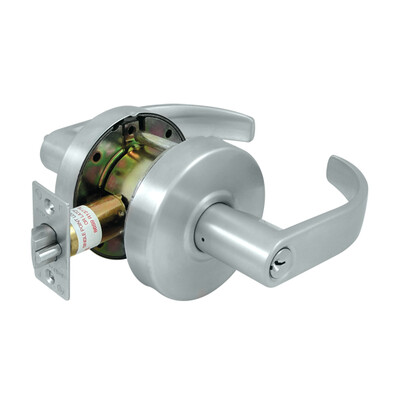 Deltana Architectural Hardware Commercial Locks: Pro Series Comm. Store Room Standard GR2, Curved w/ Cy each
