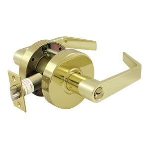 Deltana Architectural Hardware Commercial Locks: Pro Series Comm. Classroom Standard GR2, Clarendon w/CYL each