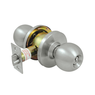 Deltana Architectural Hardware Commercial Locks: Pro Series Comm, Store Room Standard GR2, Round each