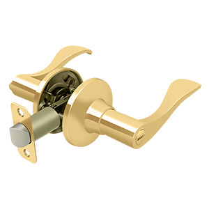 Deltana Architectural Hardware Residential Locks: Home Series Savanna Lever Privacy Left Hand each