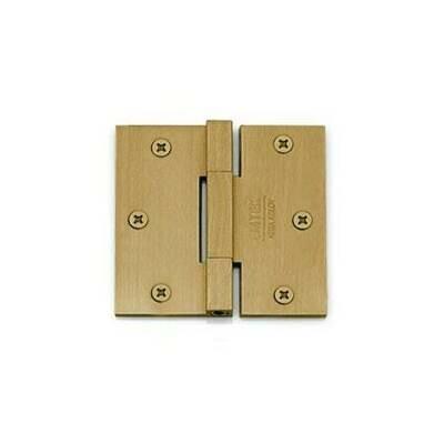 Emtek Door Hardware Square Barrel Heavy Duty Hinges 3-1/2
