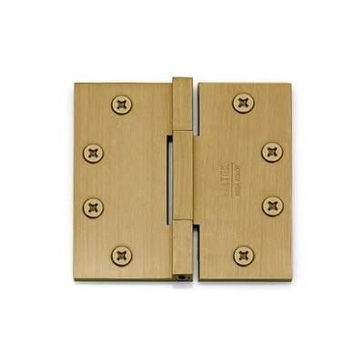Emtek Door Hardware Square Barrel Heavy Duty Hinges 4-1/2