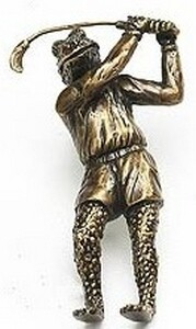 Symphony Designs  Decorative Hardware Golf Frog Pull in Aged Dover