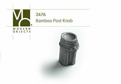Modern Objects Decorative Hardware Bamboo Post Cabinet Knob