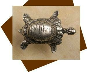 Anne at Home Turtle Cabinet Knob-Small