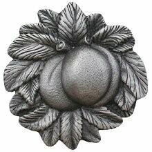 Notting Hill Cabinet Knob Georgia Peach Antique Pewter 1-5/8