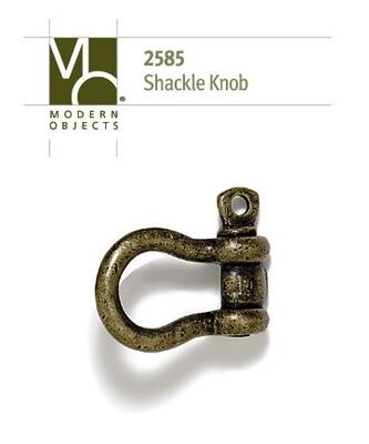 Modern Objects Designer Hardware Shackle Cabinet Knob
