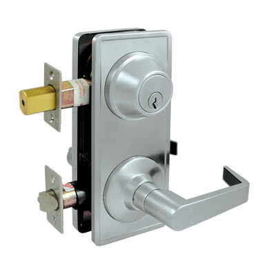 Deltana Architectural Hardware Commercial Locks: Pro Series Intercon. Lock GR2, Passage w/ Claredon Lever each