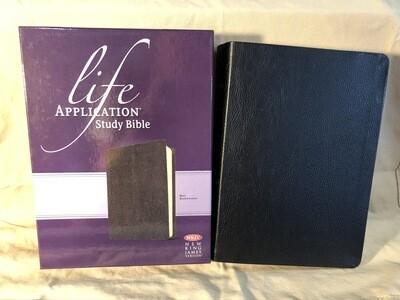 Nkjv Life Application Black