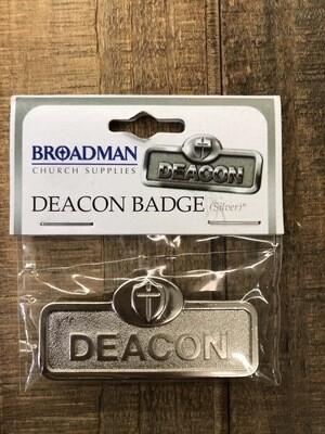 Deacon With Cross Silver