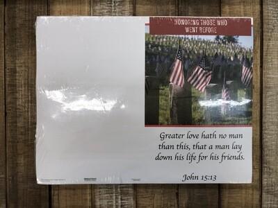 Bulletin Honoring Those