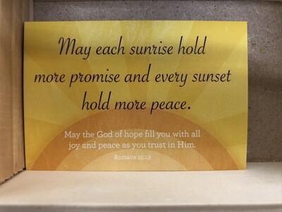Sunrise Sunset Pass Cards