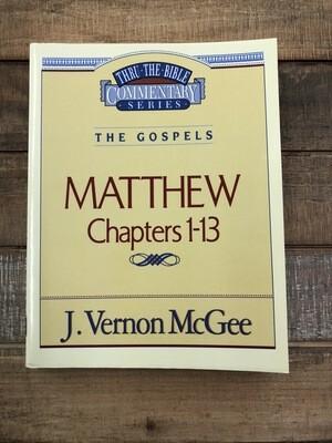 Matthew Ch. 1-13 thru the bible