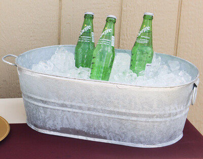 Oval Galvanized Bucket