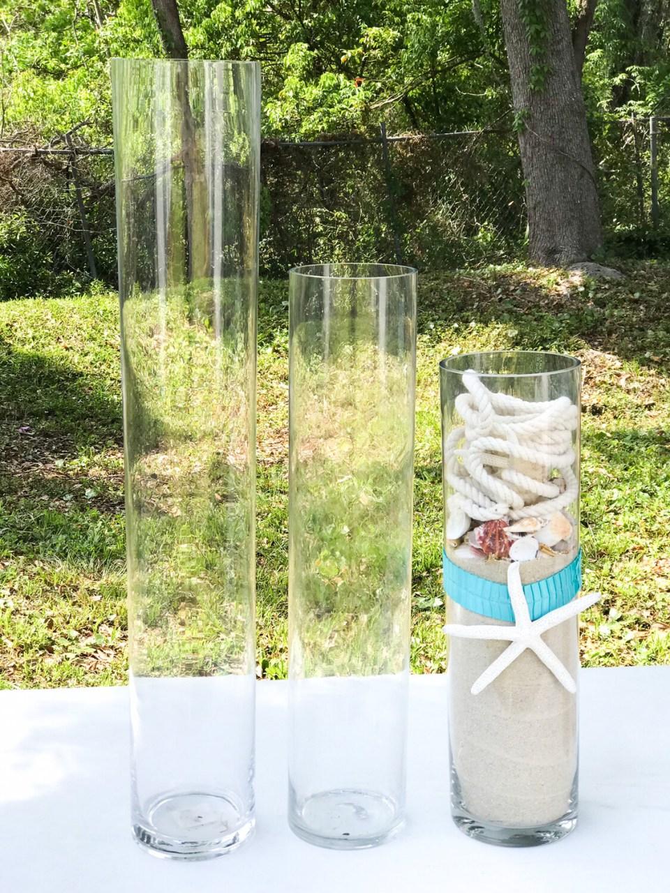 Glass Cylinder Vase 31