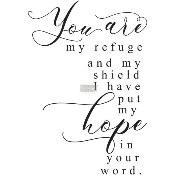 Prima Decor Transfer: My Refuge
