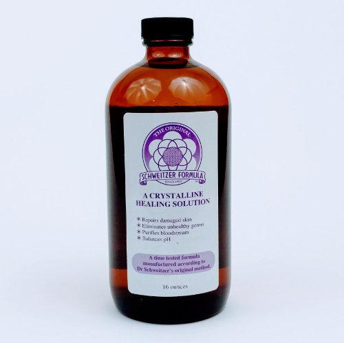 Schweitzer Formula Glass Bottle 16oz